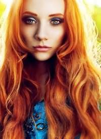 светло рыжий цвет волос кому идет 8