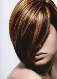 рыжий цвет волос с мелированием 3