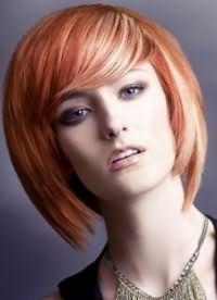 рыжий цвет волос с мелированием 9