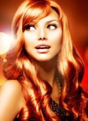 светло рыжий цвет волос