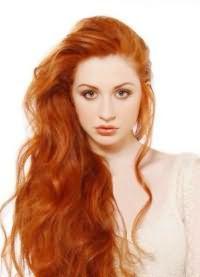 светло рыжий цвет волос кому идет 2