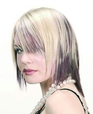 Колорирование – модное направление в окраске волос.
