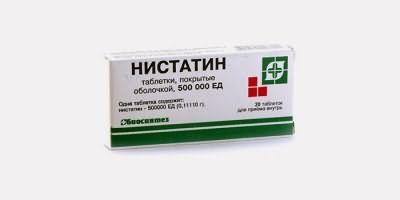 Нистатин, способный вылечить перхоть в домашних условиях