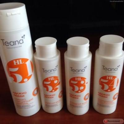 Ламинирование волос Teana Адажио любви фото