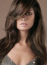 каштановый цвет волос 2