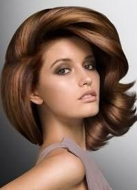 каштановый цвет волос 3