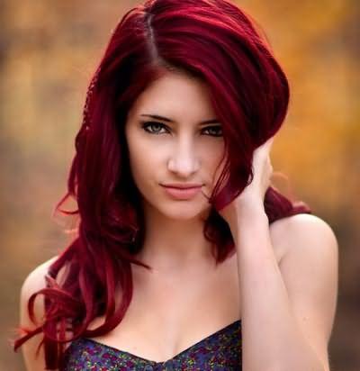 Классическое однотонное окрашивание применим на густых и здоровых волосах.