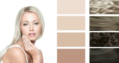 Летний цветотип внешности – идеальная основа для пепельных прядей