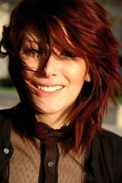 рыжий цвет волос краска