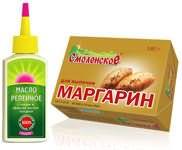 Масло и маргарин – рецепт из СССР
