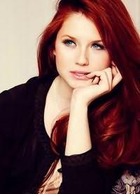 кому идет красный цвет волос 4