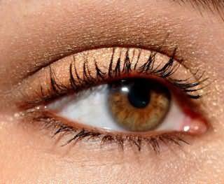 Красивый летний бронзовый макияж для карих глаз