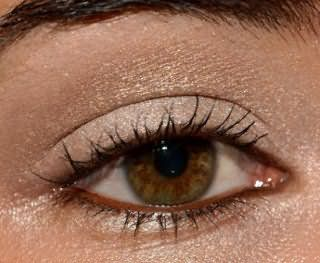 Нейтральный повседневный макияж для карих глаз