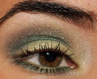 Летний макияж карих глаз 2013