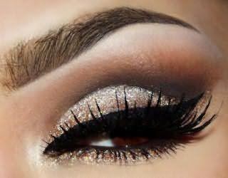 Эффектный макияж для карих глаз