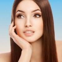 Идея дневного макияжа для карих глаз