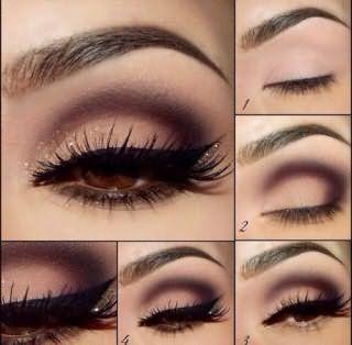 Свадебный макияж для карих глаз: пошаговое фото