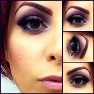 Стильный свадебный макияж для карих глаз