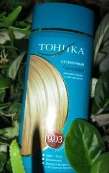 тоники для волос тоника палитра