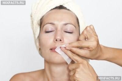 Процедуры удаления волос на лице