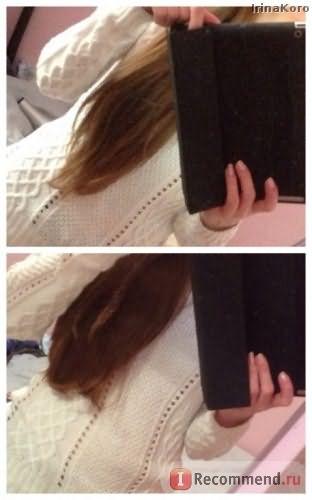 так выглядили мои волосы ДО и ПОСЛЕ стрижи