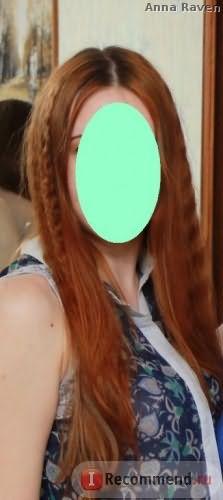 Мои волосы, февраль 2016