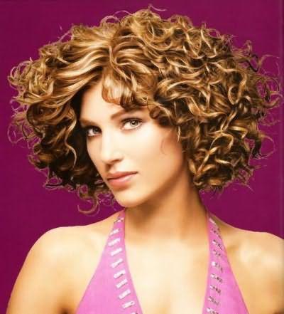 Уложить волосы феном после химии