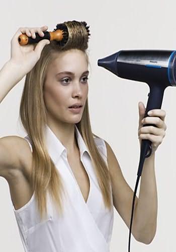 Как сделать дома укладку волос