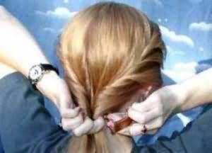 укладка дома на средние волосы 5