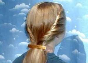 укладка дома на средние волосы 6