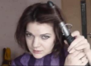 укладка коротких волос дома 1