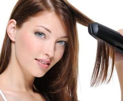 Горячие способы укладки вредят волосам