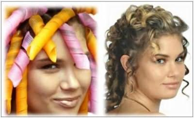 Упругие завитки также делают волосы объемными.