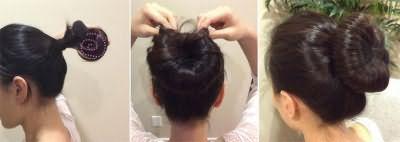 Закручивание волос вокруг валика