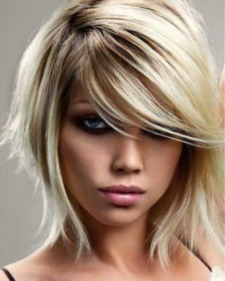 Французское мелирование на русые волосы
