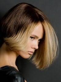 Мелирование темных волос - балияж