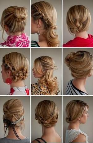Стильные прически для волос средней длины: вариации на все случаи жизни