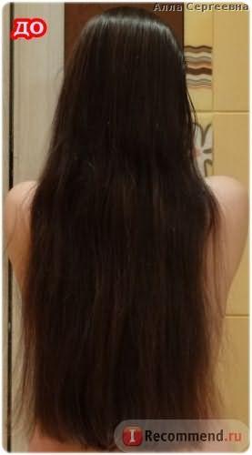 Волосы ДО первого применения