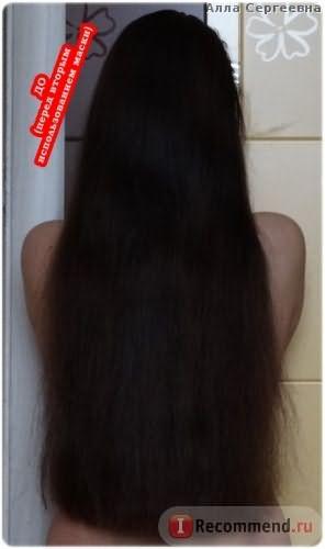 Волосы ДО (пеерд вторым нанесением маски)