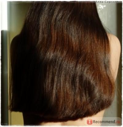 ПОСЛЕ шестого применения - волосы поближе и на солнце - (нанесение в душе)