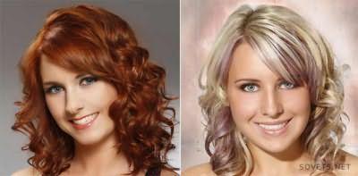 Волнистые вечерние прически для средних волос
