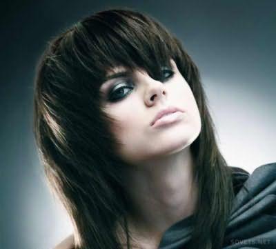 Прически в стиле трэш на средние волосы