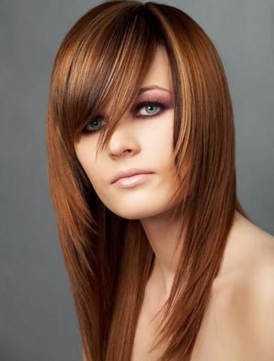 виды стрижек на длинные волосы без челки