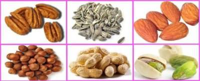 Орехи – главный источник витамина Е