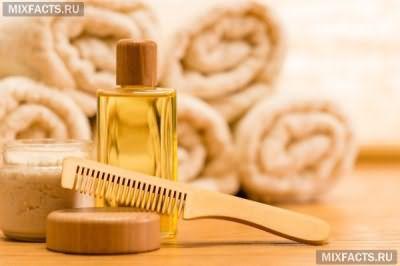Репейное масло и витамин Е для волос
