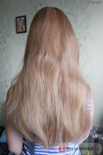 Мои волосенки сейчас - длина, общий вид