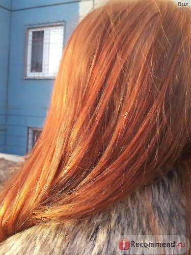 состояние волос после смывки не ухудшилось