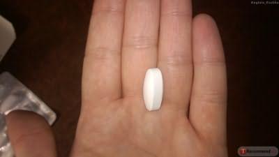 Таблетка с фалангу пальца!