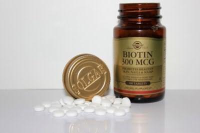 Витаминный комплекс Биотин для оздоровления волос