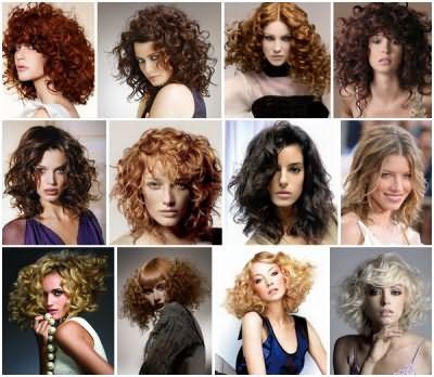 Каскадные стрижки на вьющие волосы